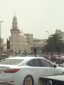 Modern mosque in Manama