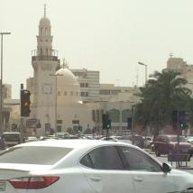 Modern mosque in Manama