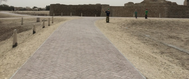 Panoramic view of one side of the fort. This was built in 1500ish.