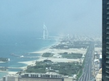 Burj Al Arab off in the distance