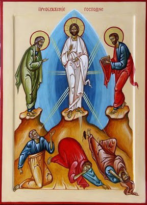 21, Modern 1, Icon of Transfiguration, by Alexander Ainetdinov